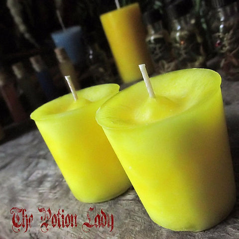 Air (Elemental ) Candles by The Potion Lady