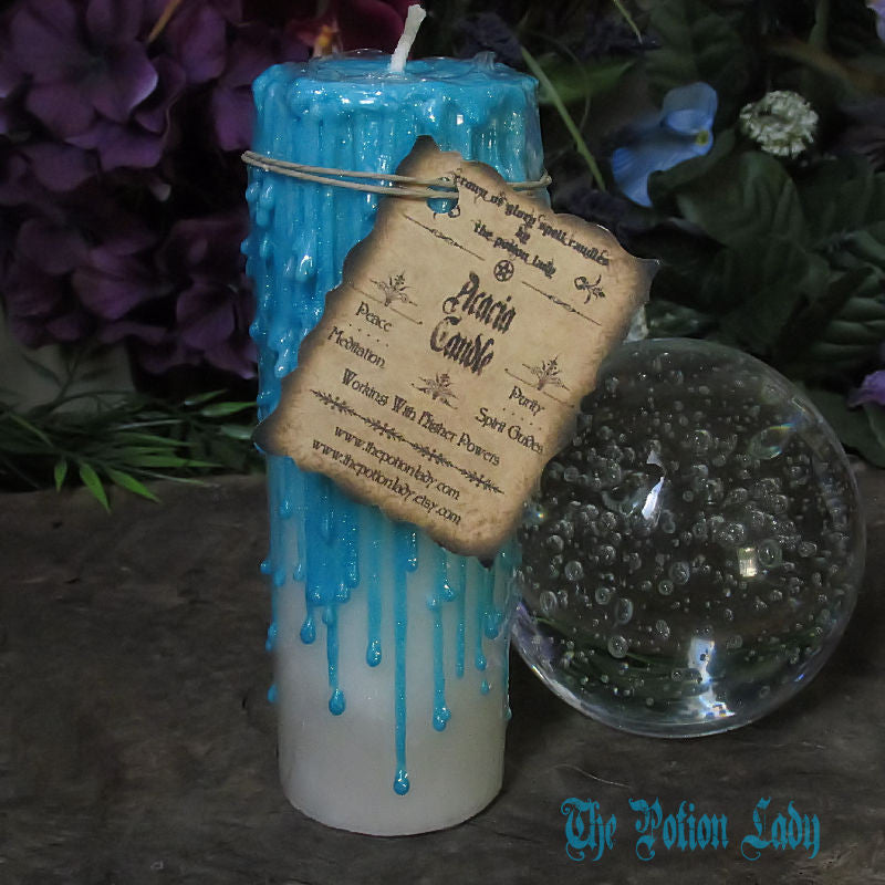 Acacia Candles by The Potion Lady