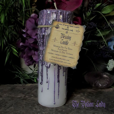 Blessing Candles by The Potion Lady