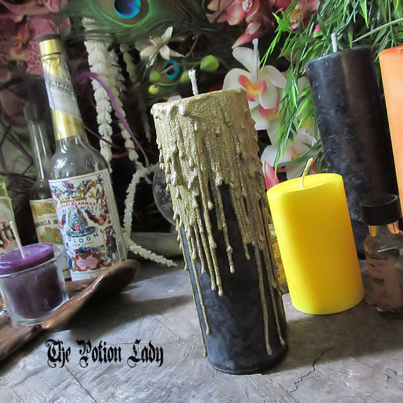 Seance Candles by The Potion Lady