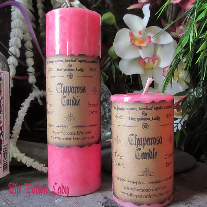 Chuparosa Candles by The Potion Lady