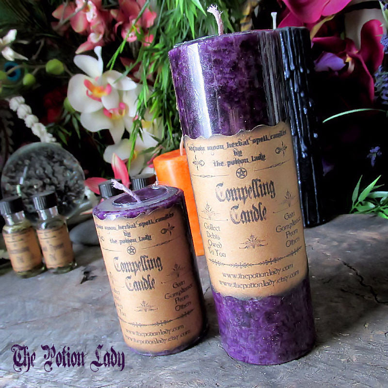 Compelling Candles by The Potion Lady