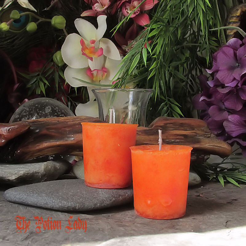 Joyful Spirit Candles by The Potion Lady