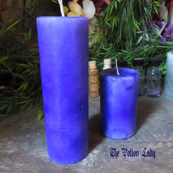 Jupiter Candle | Expansion, Growth, Magick, Mysteries, Planetary