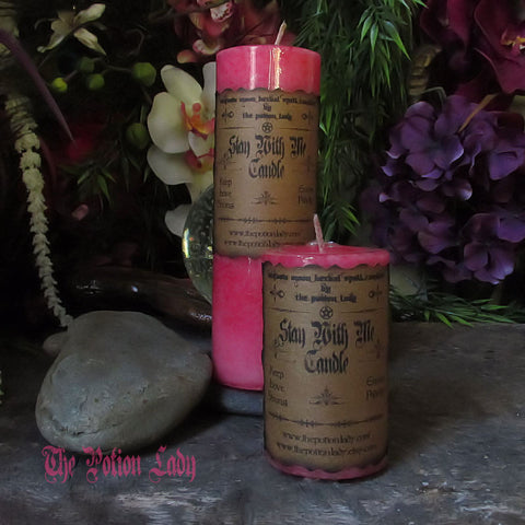 Stay With Me Candles by The Potion Lady
