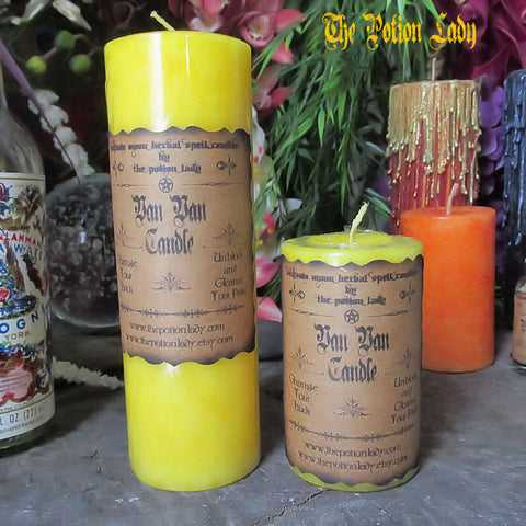 Van Van Candles by The Potion Lady