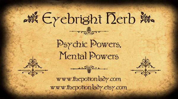 Eyebright Herb | Psychic Powers, Intellect And Mental Powers