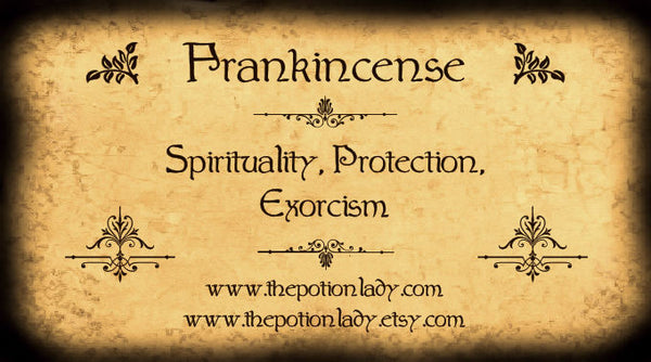 Frankincense Resin |  Olibanum, Mastic Tree | Spirituality, Protection, Exorcism