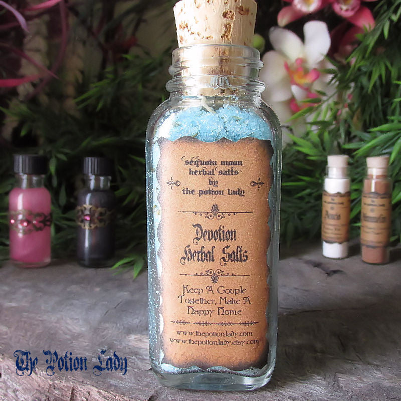 Devotion Herbal Salts | Marriage, Fidelity, Happiness | The Potion Lady