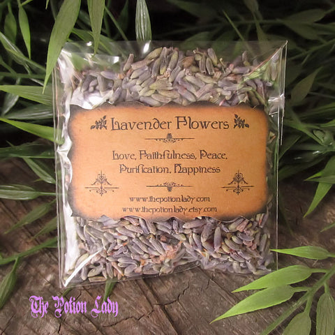 Lavender Flowers | Elf Leaf, Spike, Nardus | Love, Protection, Peace, Happiness