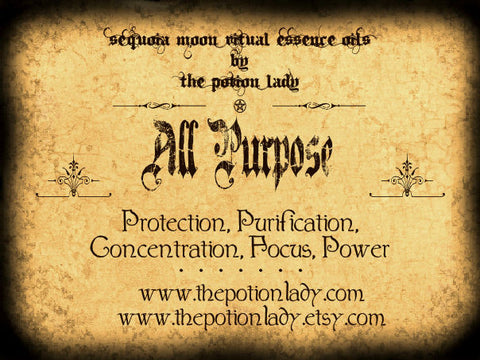 All Purpose Oils by The Potion Lady