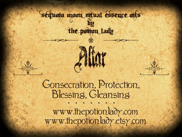 Altar Oil by The Potion Lady
