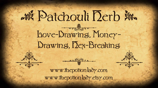 Patchouli Leaf | Puchapot, Graveyard Dust | Love Drawing, Money Drawing, Hex Breaking, Fertility, Lust