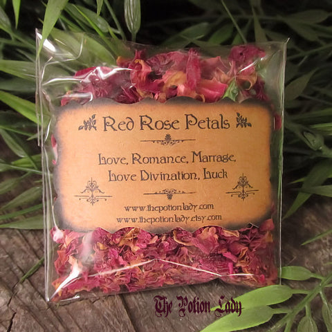 Rose Petals | Romance, Love, Marriage, Love Divination, Luck