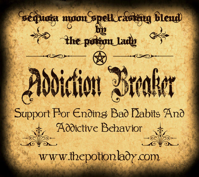 Addiction Breaker Spell Casting Blend | Support For Ending Bad Habits and Addictive Behavior | Spiritual Supplies