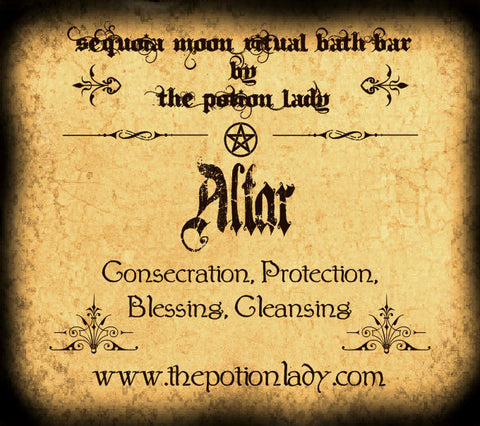 Altar Ritual Bath Bar | Consecration, Protection, Cleansing
