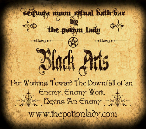 Black Arts Ritual Bath Bar | Crossing, Cursing, Hexing