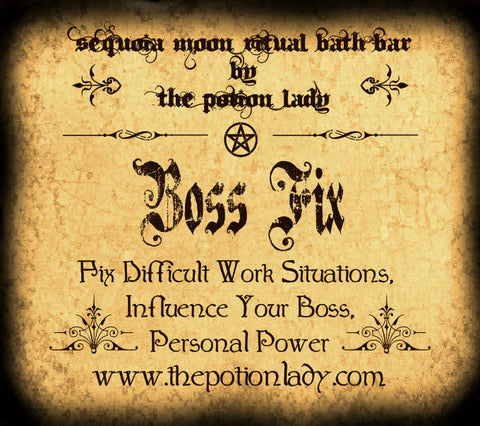 Boss Fix Ritual Bath Bar | Influence, Power