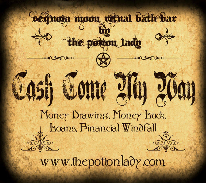 Cash Come My Way Ritual Bath Bar | Draw Money