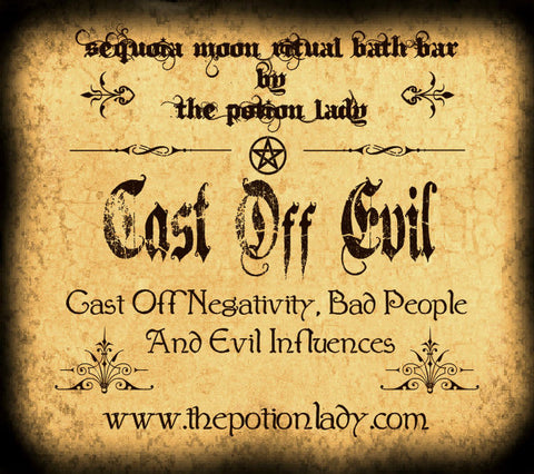 Cast Off Evil Ritual Bath Bar | Cleansing, Banishing