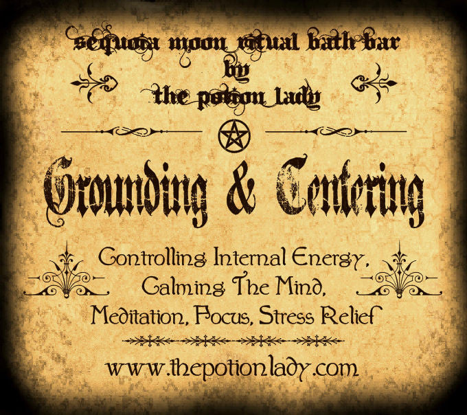 Grounding & Centering Ritual Bath Bar | Calming, Meditation, Focus