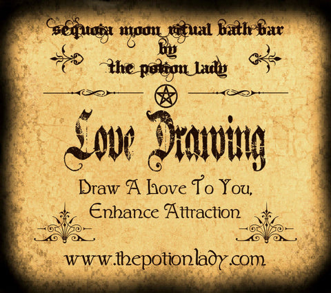Love Drawing Ritual Bath Bar | Love Spells, Romance, Witchcraft Supplies