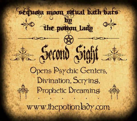 Second Sight Ritual Bath Bar | Divination, Psychic Powers, Prophetic Dreaming