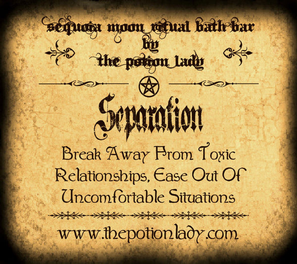 Separation Ritual Bath Bar | Break Away From Undesirable Conditions