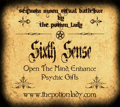 Sixth Sense Ritual Bath Bar | Clairvoyance, Psychic Abilities, Intuition, Empathy