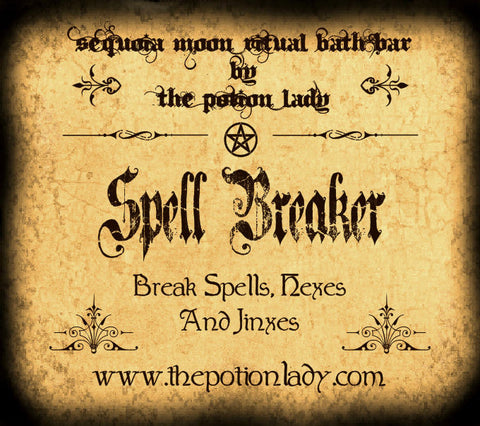 Spell Breaker Ritual Bath Bar | Break Spells, Jinxes, Hexes, Curses