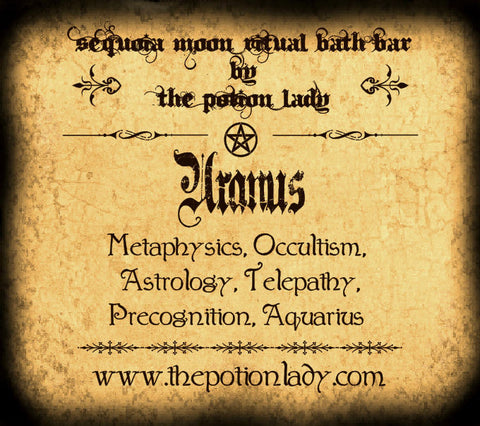 Uranus Ritual Bath Bar | Astrology, Metaphysics, Occult Sciences, Planetary