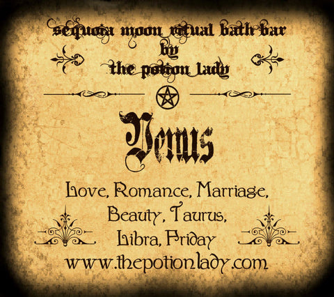 Venus Ritual Bath Bar | Beauty, Love, Romance, Peace, Planetary