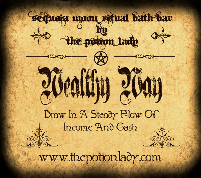 Wealthy Way Ritual Bath Bar | Steady Flow Of Cash And Income