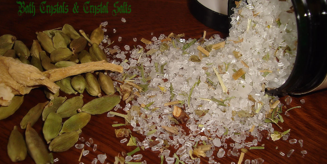 Bath Crystals & Crystal Salts by The Potion Lady