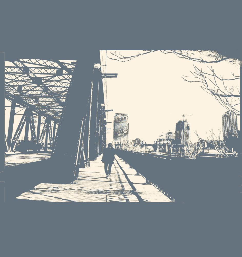 Men's T-Shirt « Bathurst Bridge »