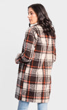 Plaid Coat Automnal Color