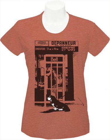 Women's T-Shirt « Bell, Beer and Basset »
