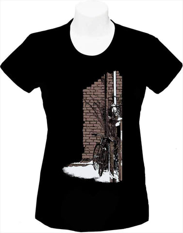 Women's T-shirt « Etienne's Bike »