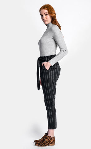 Plaid Pinstriped Pants