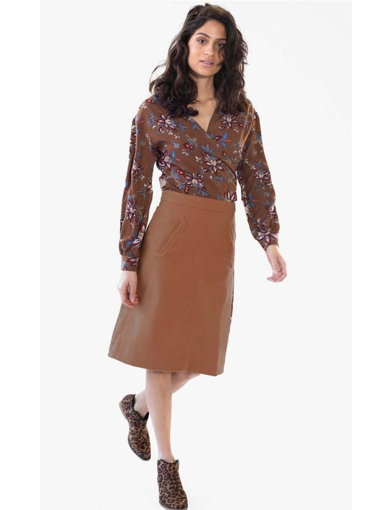 Skirt Basic Camel