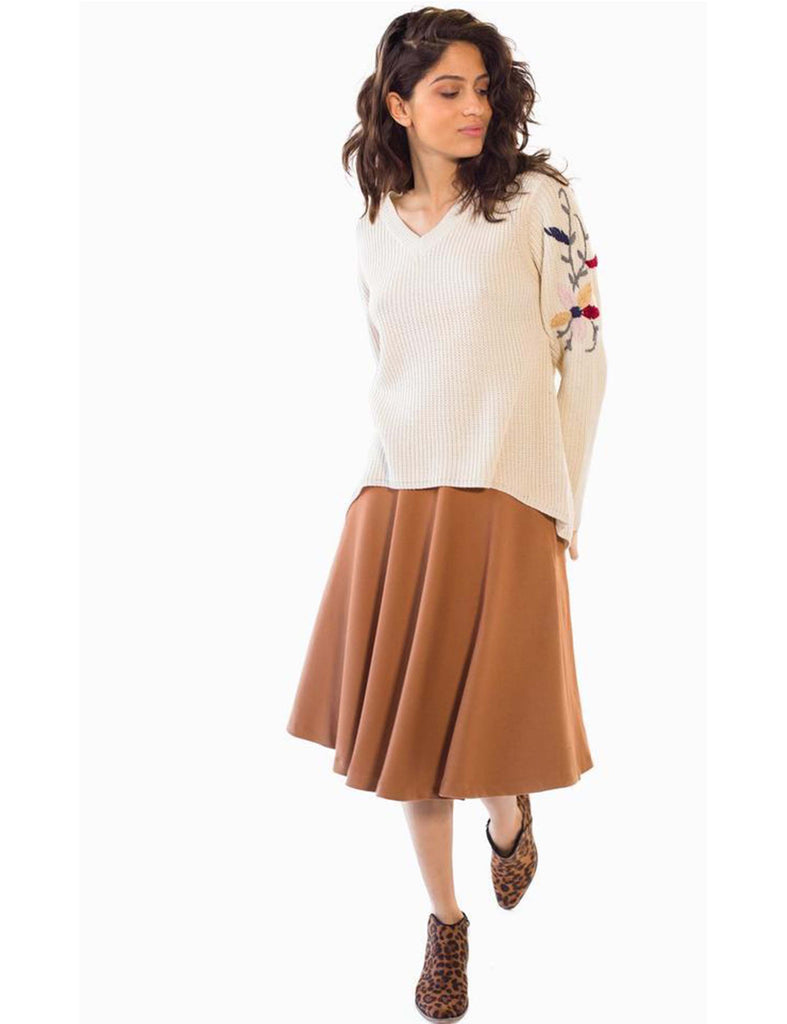 Skirt Swing Camel
