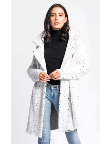 Fuzzy White Coat