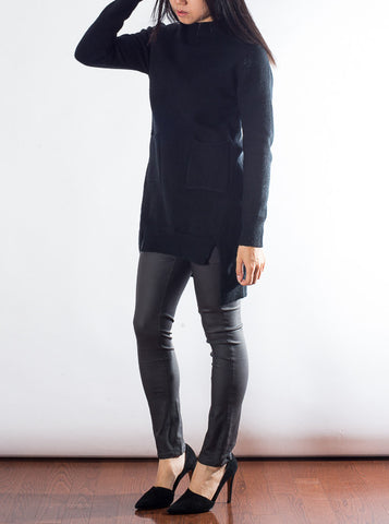 Black Long Sweater