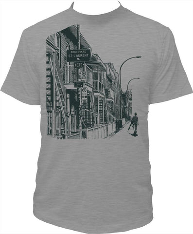 "Men's T-shirt ""Boulevard St. Laurent"""