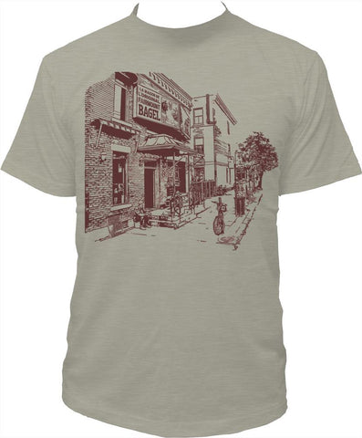 "Men's T-Shirt ""Bagel Fairmount"""