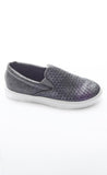 Faded Grey Slip On Sneakers