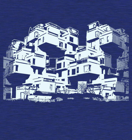 "Men's T-shirt ""Habitat 67"""