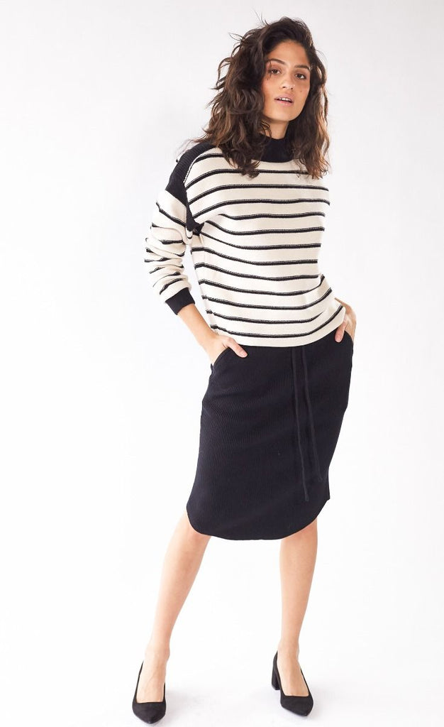 Louie Skirt Black