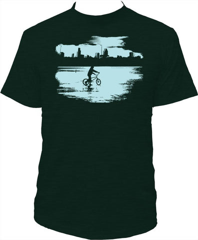 "Men's T-shirt ""Winter in Montréal"""