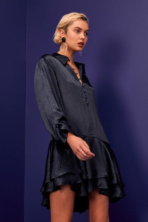 Be Here Now Dress Navy